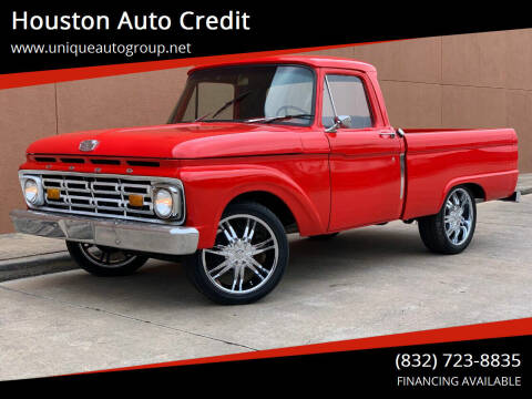 1966 Ford F-100 for sale at Houston Auto Credit in Houston TX