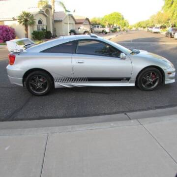 2002 Toyota Celica for sale at Classic Car Deals in Cadillac MI