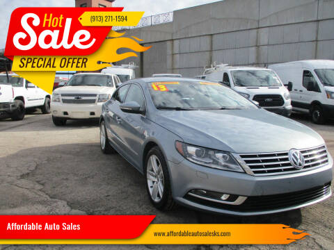 2013 Volkswagen CC for sale at Affordable Auto Sales in Olathe KS