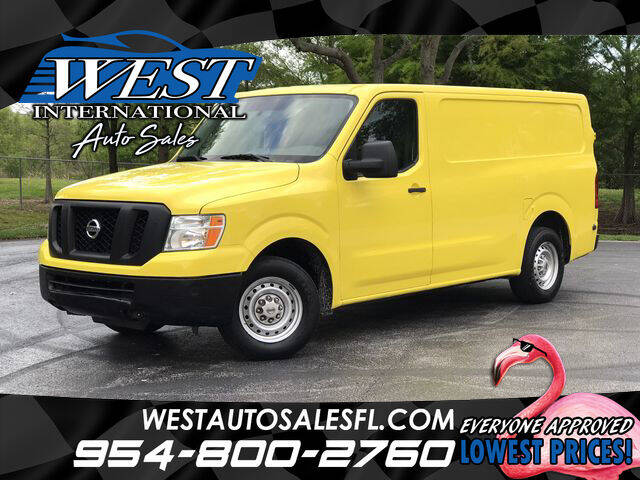 2015 Nissan NV Cargo for sale in Miramar, FL