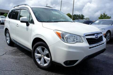 2014 Subaru Forester for sale at CU Carfinders in Norcross GA
