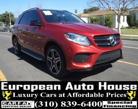 2018 Mercedes-Benz GLE for sale at European Auto House in Los Angeles CA