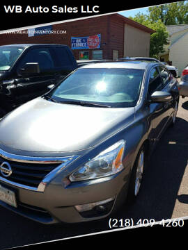 2015 Nissan Altima for sale at WB Auto Sales LLC in Barnum MN