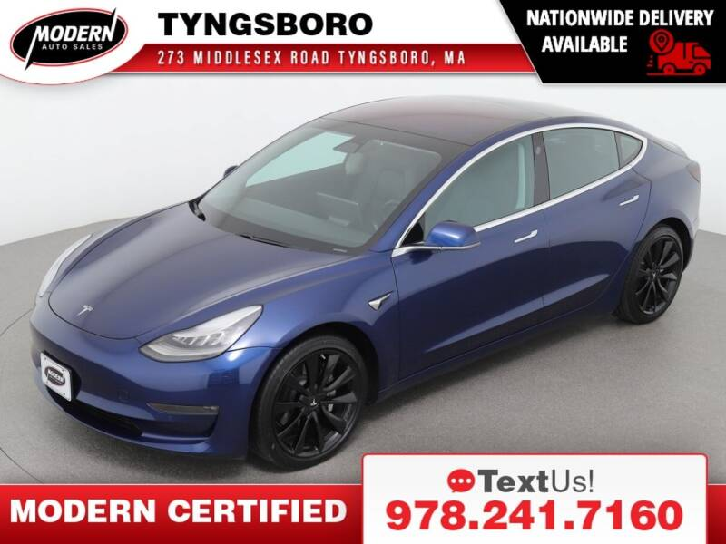 2018 Tesla Model 3 for sale at Modern Auto Sales in Tyngsboro MA