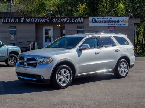 2011 Dodge Durango for sale at Ultra 1 Motors in Pittsburgh PA