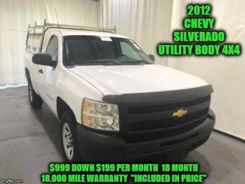 2012 Chevrolet Silverado 1500 for sale at D&D Auto Sales, LLC in Rowley MA