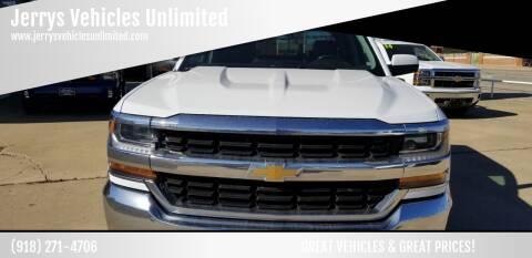 2016 Chevrolet Silverado 1500 for sale at Jerrys Vehicles Unlimited in Okemah OK