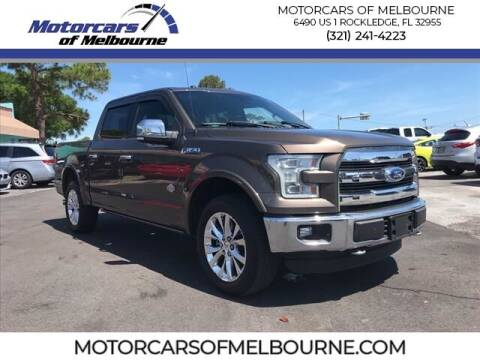 2015 Ford F-150 for sale at Motorcars of Melbourne in Rockledge FL