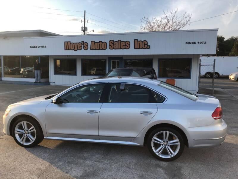 2013 Volkswagen Passat for sale at Moye's Auto Sales Inc. in Leesburg FL