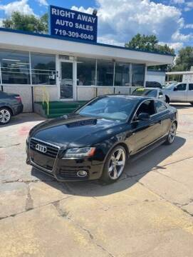 2009 Audi A5 for sale at Right Away Auto Sales in Colorado Springs CO