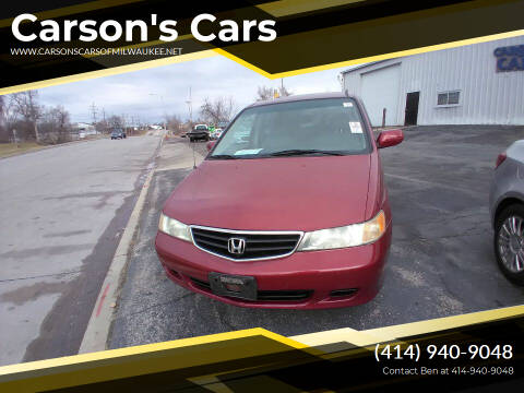 2003 Honda Odyssey for sale at Carson's Cars in Milwaukee WI