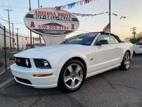2007 Ford Mustang for sale at Arizona Drive LLC in Tucson AZ