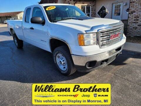 2013 GMC Sierra 2500HD for sale at Williams Brothers - Pre-Owned Monroe in Monroe MI