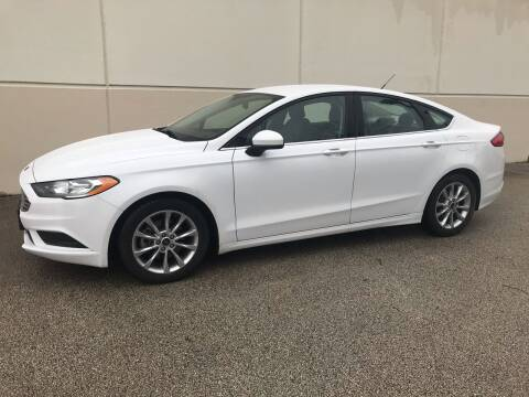 2017 Ford Fusion for sale at Crowne Motors in Newton IA