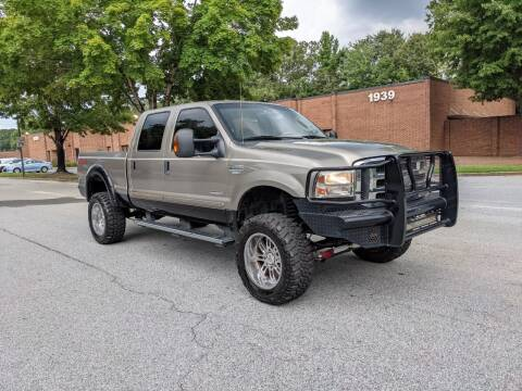 2005 Ford F-250 Super Duty for sale at United Luxury Motors in Stone Mountain GA
