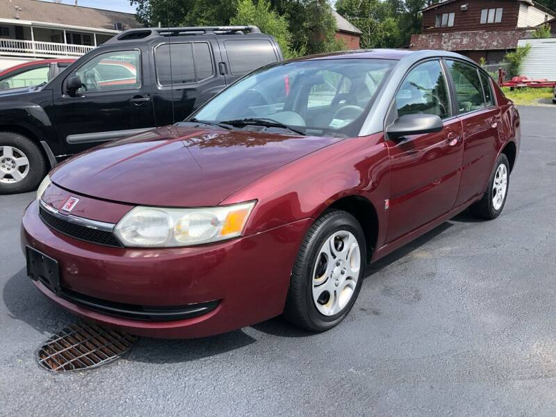 2003 Saturn Ion for sale at JB Auto Sales in Schenectady NY