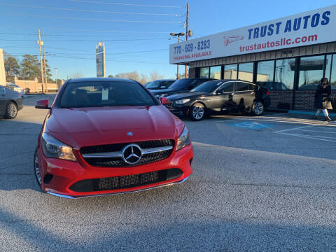 2017 Mercedes-Benz CLA for sale at Trust Autos, LLC in Decatur GA