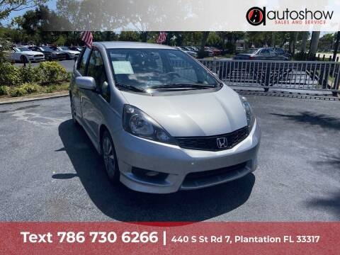 2012 Honda Fit for sale at AUTOSHOW SALES & SERVICE in Plantation FL