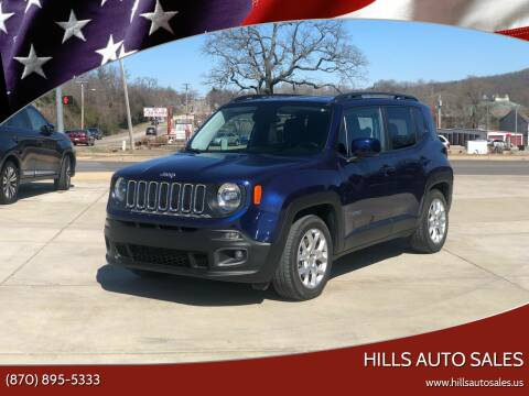 2017 Jeep Renegade for sale at Hills Auto Sales in Salem AR