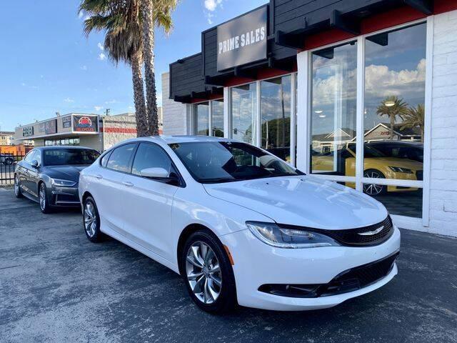 2015 Chrysler 200 for sale at Prime Sales in Huntington Beach CA