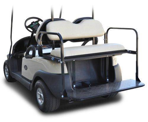 M&M Flip Rear Seat - BPC - Precede for sale at Jim's Golf Cars & Utility Vehicles - Accessories in Reedsville WI