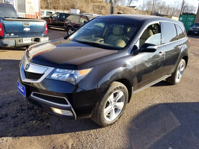 2010 Acura MDX for sale at G & H Motors LLC in Sioux Falls SD