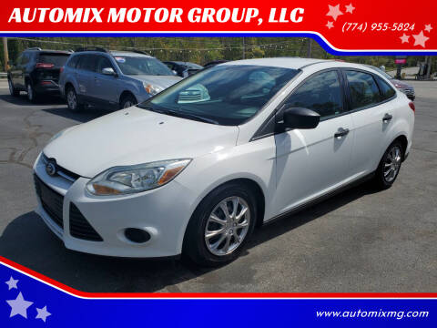 2014 Ford Focus for sale at AUTOMIX MOTOR GROUP, LLC in Swansea MA