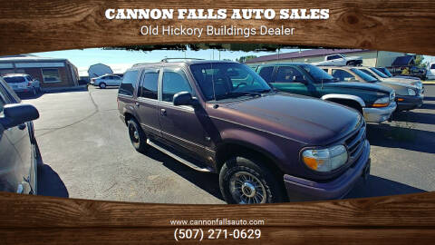 1998 Ford Explorer for sale at Cannon Falls Auto Sales in Cannon Falls MN