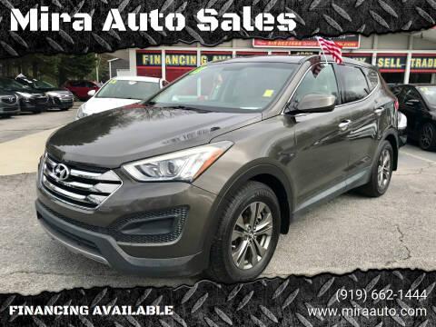 2013 Hyundai Santa Fe Sport for sale at Mira Auto Sales in Raleigh NC