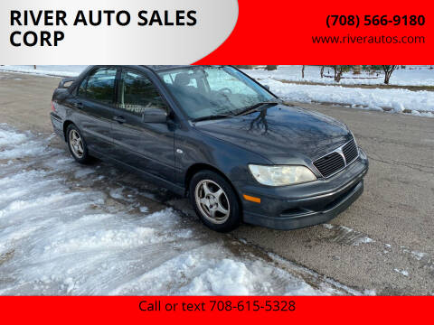 2003 Mitsubishi Lancer for sale at RIVER AUTO SALES CORP in Maywood IL
