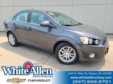 2012 Chevrolet Sonic for sale at WHITE-ALLEN CHEVROLET in Dayton OH