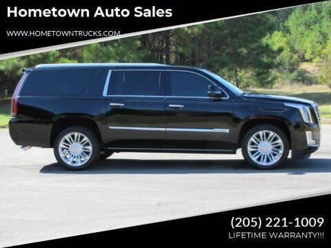 2016 Cadillac Escalade ESV for sale at Hometown Auto Sales - SUVS in Jasper AL