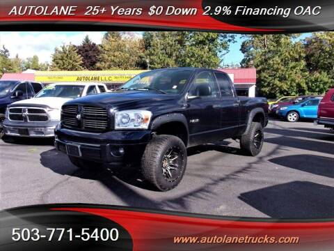 2008 Dodge Ram Pickup 1500 for sale at Auto Lane in Portland OR