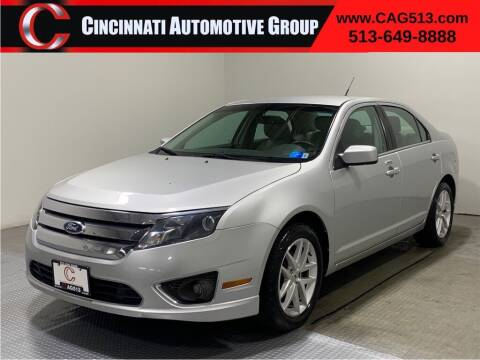 2012 Ford Fusion for sale at Cincinnati Automotive Group in Lebanon OH