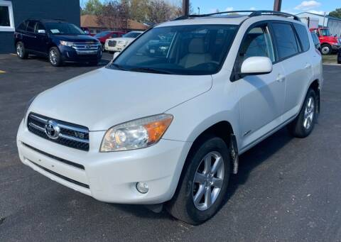 2008 Toyota RAV4 for sale at Eagle Auto LLC in Green Bay WI