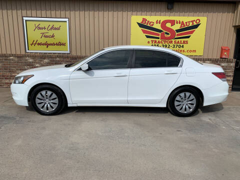 2010 Honda Accord for sale at BIG 'S' AUTO & TRACTOR SALES in Blanchard OK