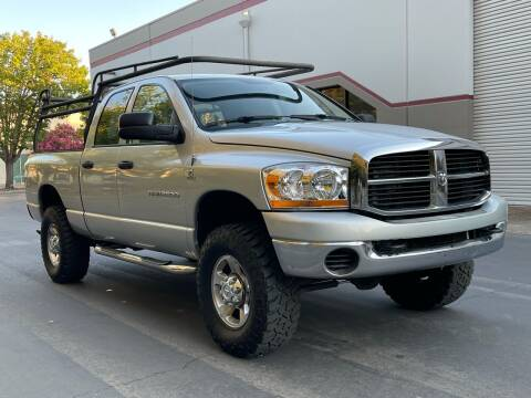 2006 Dodge Ram Pickup 2500 for sale at COUNTY AUTO SALES in Rocklin CA