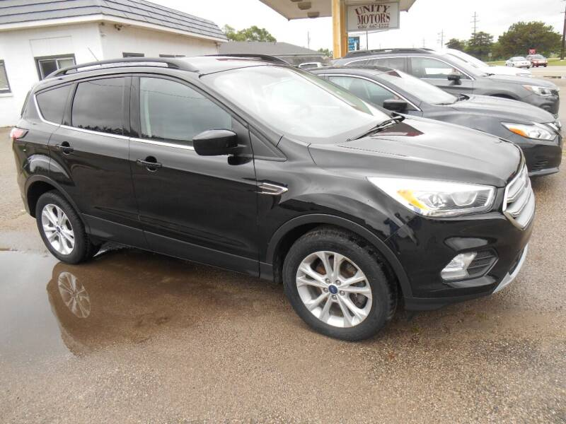 2017 Ford Escape for sale at Unity Motors LLC in Jenison MI