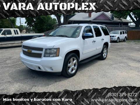 2011 Chevrolet Tahoe for sale at VARA AUTOPLEX in Seguin TX