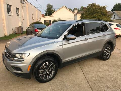 2020 Volkswagen Tiguan for sale at DALE'S PREOWNED AUTO SALES INC in Moundsville WV