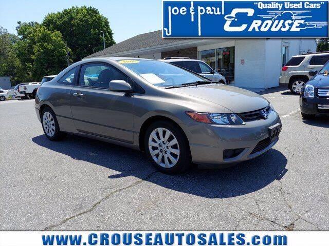 2008 Honda Civic for sale at Joe and Paul Crouse Inc. in Columbia PA