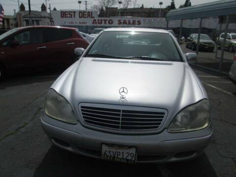 2000 Mercedes-Benz S-Class for sale at Best Deal Auto Sales in Stockton CA