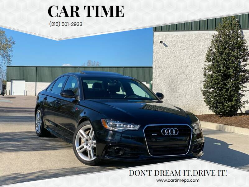 2014 Audi A6 for sale at Car Time in Philadelphia PA
