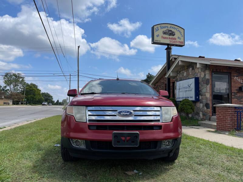 2007 Ford Edge for sale at All Starz Auto Center Inc in Redford MI