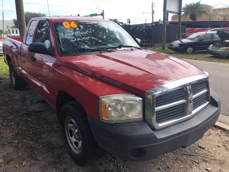 2006 Dodge Dakota for sale at Castagna Auto Sales LLC in Saint Augustine FL