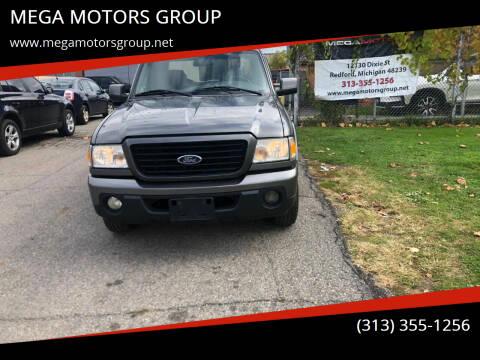 2009 Ford Ranger for sale at MEGA MOTORS GROUP in Redford MI
