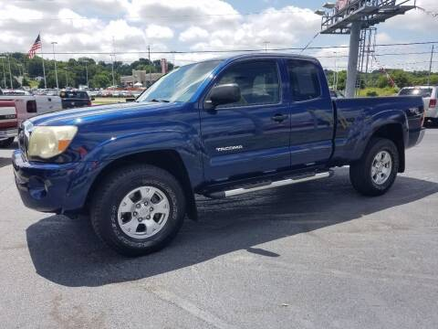 2005 Toyota Tacoma for sale at Moores Auto Sales in Greeneville TN