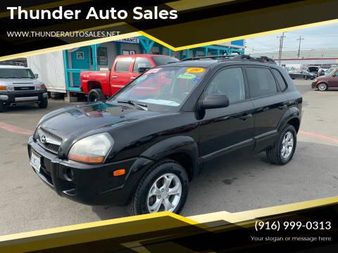 2009 Hyundai Tucson for sale at Thunder Auto Sales in Sacramento CA