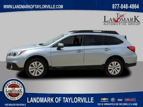2017 Subaru Outback for sale at LANDMARK OF TAYLORVILLE in Taylorville IL