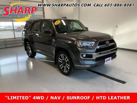 2016 Toyota 4Runner for sale at Sharp Automotive in Watertown SD